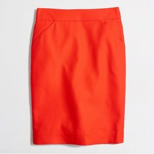 J. CREW THE PENCIL SKIRT WITH POCKETS.